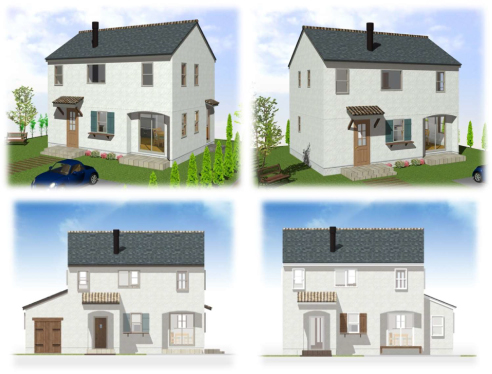 選べる5つの家
