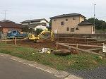 笠間市M様邸基礎工事