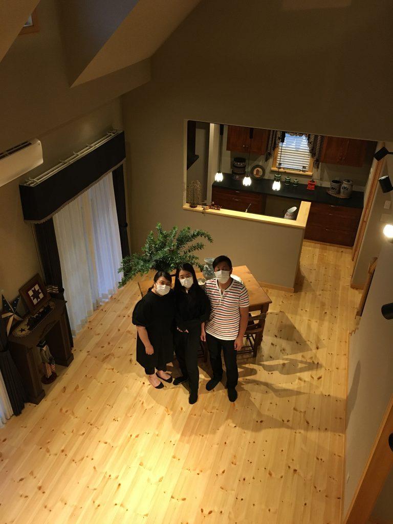 感謝のオープンハウス♪          石岡市住宅会社