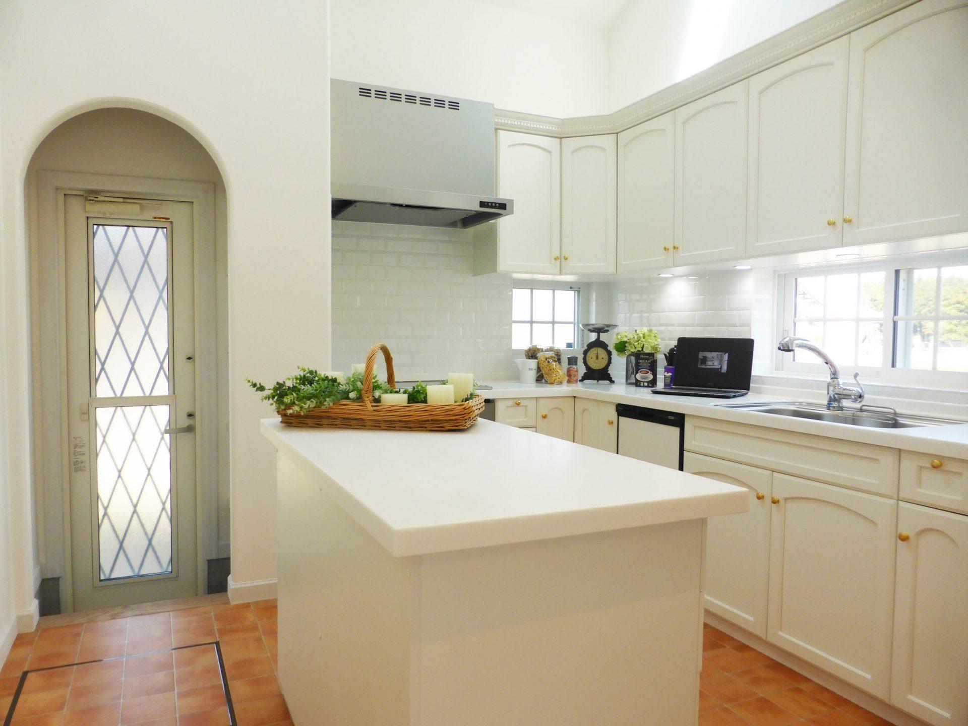 便利でおしゃれな独立キッチンという選択肢|石岡市の注文住宅間取り実例