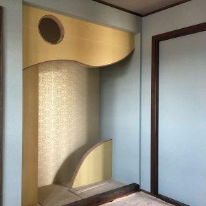 ご主人様デザインの「ヒュッゲ」古民家風和室♪            輸入住宅茨城 四季彩建設